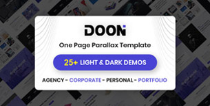 Doon - One Page Parallax HTML Template