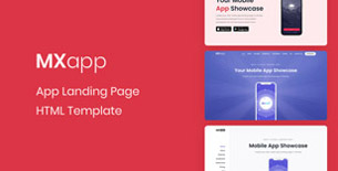 MXapp - App Landing Page