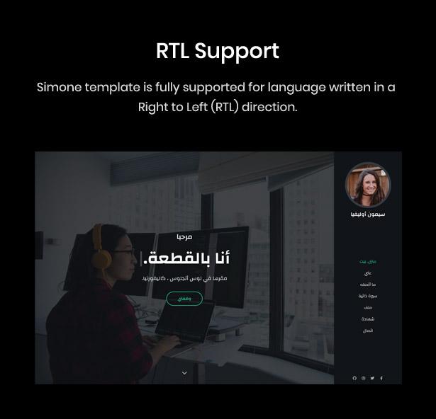 RTL Language Support