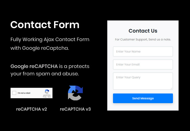 Working Ajax Contact Form