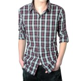 Long Sleeve Shirt Fashion Men